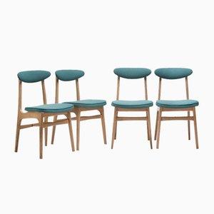 200-190 Dining Chairs by Hałas Rajmund for Zamojskie Fabryki Mebli, 1960s, Set of 4