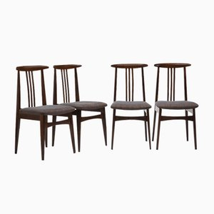 200-100/B Dining Chairs by Zieliński Mieczysław for Opole Furniture Industry Center, 1960s, Set of 4