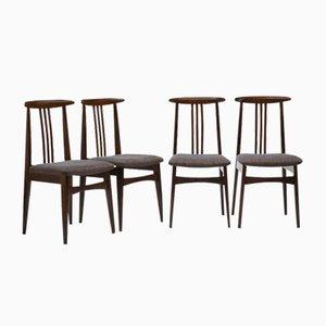 200-100/B Dining Chairs by Zieliński Mieczysław for Opole Furniture Industry Center, 1960s, Set of 4