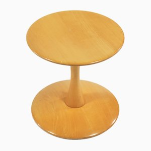 Danish Modern Beech Toadstools Side Tables or Stools by Nanna Ditzel for Kolds Savvaerk, 1962, Set of 2