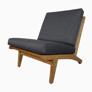 GE 375 Sessel aus Eiche von Hans J. Wegner für Getama, 1960er