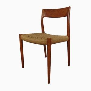 Vintage Model 77 Dining Chair by Niels Otto Møller for JL Møller, 1960s