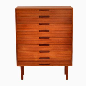 Small Danish Teak Chest of Drawers, 1966