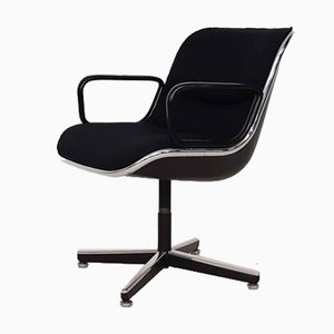 German Desk Chair by Charles Pollock for Knoll, 1963