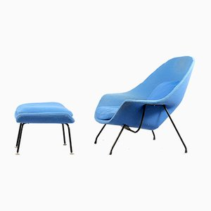 Vintage Womb Chairs by Eero Saarinen for Knoll Inc. / Knoll International, Set of 2