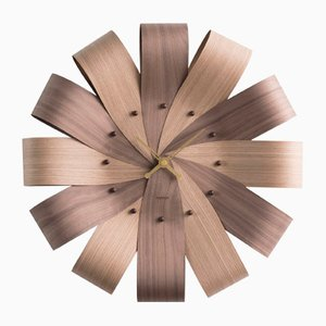 Ciclo Mixto & Brass Hands Wall Clock by Andrés Martínez for Nomon