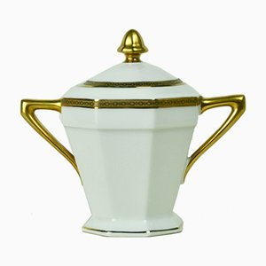 Sugar Bowl from Limoges, 1950s