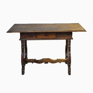 Antiker Walnuss Schreibtisch, 1800er