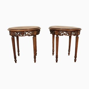 Antique Coffee Tables, Set of 2