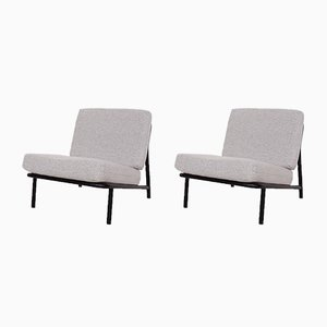 Swedish Model 013 Lounge Chairs by Alf Svensson for Dux, 1960s, Set of 2