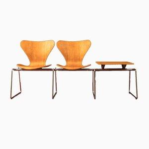 Banc par Arne Jacobsen pour Fritz Hansen, 1970s