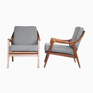 Teak Lounge Chairs from Walter Knoll / Wilhelm Knoll, 1960s, Set of 2