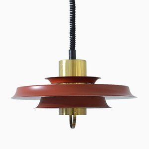 Scandinavian Pendant Lamp from Vitrika, 1970s