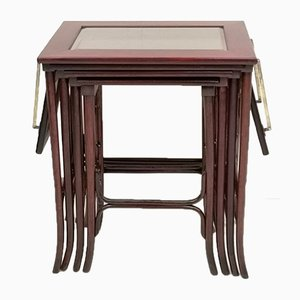 Antique Nesting Tables by Michael Thonet for Thonet