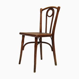 Antique Bistro Dining Chair by Michael Thonet for Gebr