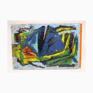 Oeuvre d'Art Émaillée de Carl B. Gorell, 1962