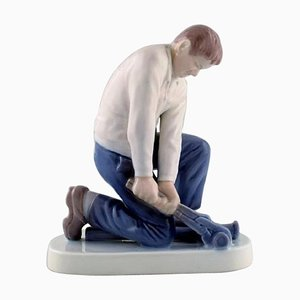 Porcelain Plumber Figurine from Bing & Grondahl, 20th Century