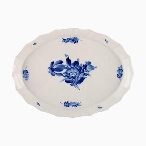 Blue Flower Angular Tray Decoration Number 10/8578 from Royal Copenhagen, 20th Century