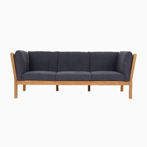 Vintage Danish Oak 3-Seater Model AH303 Sofa by Hansen Andreas for Brødere Andersen