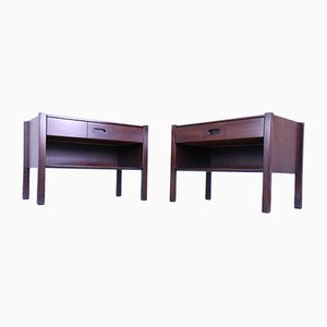 Vintage Rosewood Nightstands by John Ausenda for Stilwood, Set of 2