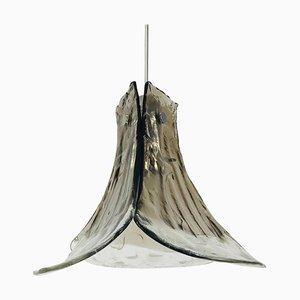 Lampe à Suspension en Verre Murano par Carlo Nason pour Kalmar, Allemagne, 1960s