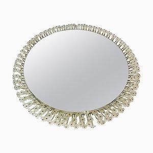 Round Illuminated Mirror by Emil Stejnar for Rupert Nikoll, 1960s