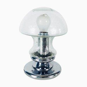 Lampe de Bureau en Verre Givré de Doria Leuchten, 1970s