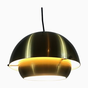 Danish Metal Pendant Lamp from Super Light 1, 1970s