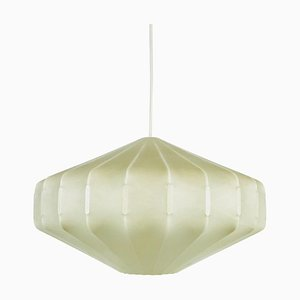 Cocoon Diamond Pendant Lamp from Hille by Achille Castiglioni, 1960s