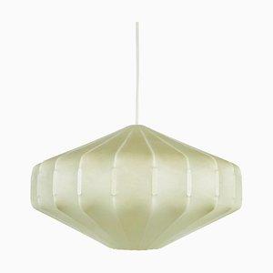 Cocoon Diamond Pendant Lamp from Hille by Achille Castiglioni, 1960s