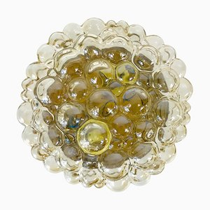 Mid-Century Bubble Glass FLush Mount by Helena Tynell for Limburg, 1960s