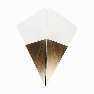 Austrian Triangle Ice Glass Sconce from Kalmar, 1960s