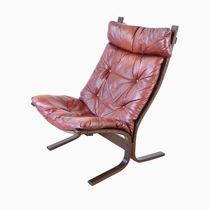 Mid-Century Scandinavian Siesta Lounge Chair by Ingmar Relling for Westnofa