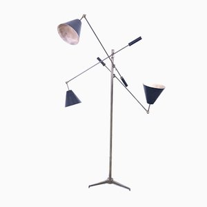 Mid-Century Floor Lamp by Angelo Lelli for Arredoluce