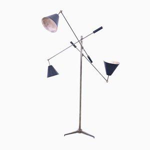 Mid-Century Floor Lamp by Angelo Lelli for Arredoluce