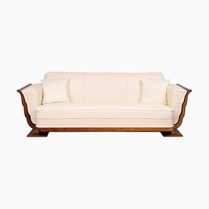 Art Deco Sofa aus Walnuss & Vogelaugenahorn, 1930er