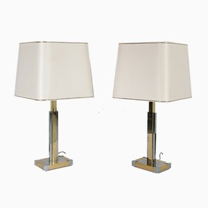 Spanish Table Lamps from Lumica, 1970s, Set of 2