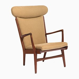 Mid-Century Model AP15 Armchair by Hans J. Wegner for A.P. Stolen