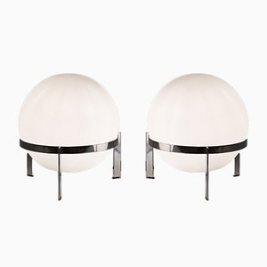 Model Luna Table Lamps by Alfred Hablützel for Swiss Lamps International, 1960s, Set of 2