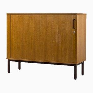 Vintage Danish Oak Veneer Storage Cabinet