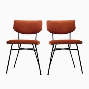Kleine Esszimmerstühle, 1960er, 2er Set