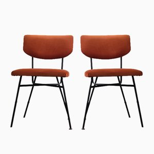 Small Dining Chairs, 1960s, Set of 2