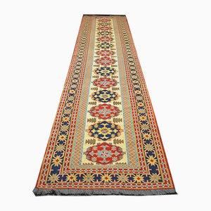 Handwoven Afghan Wool Suzani Carpet, 2001