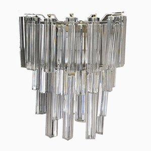 Murano Glass Triedri Sconces from Venini, 1960s, Set of 2