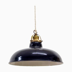 Vintage Industrial Spanish Ceiling Lamp from EGSA, 1950s