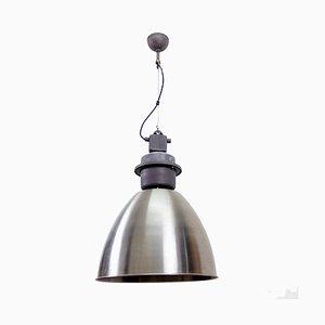 Große industrielle Deckenlampe, 1980er