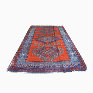 Vintage Turkish Woolen Ushak Carpet, 1950s