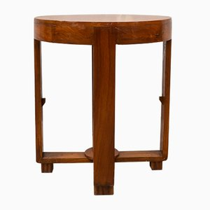 Small Anglo-Indian Art Deco Side Table, 1930s