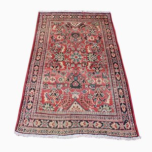 Vintage Middle East Wool Mahal Carpet, 1950s