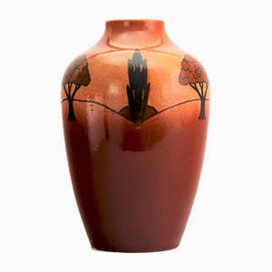 Vintage Shouldered Vase from Ault Pottery, 1920s